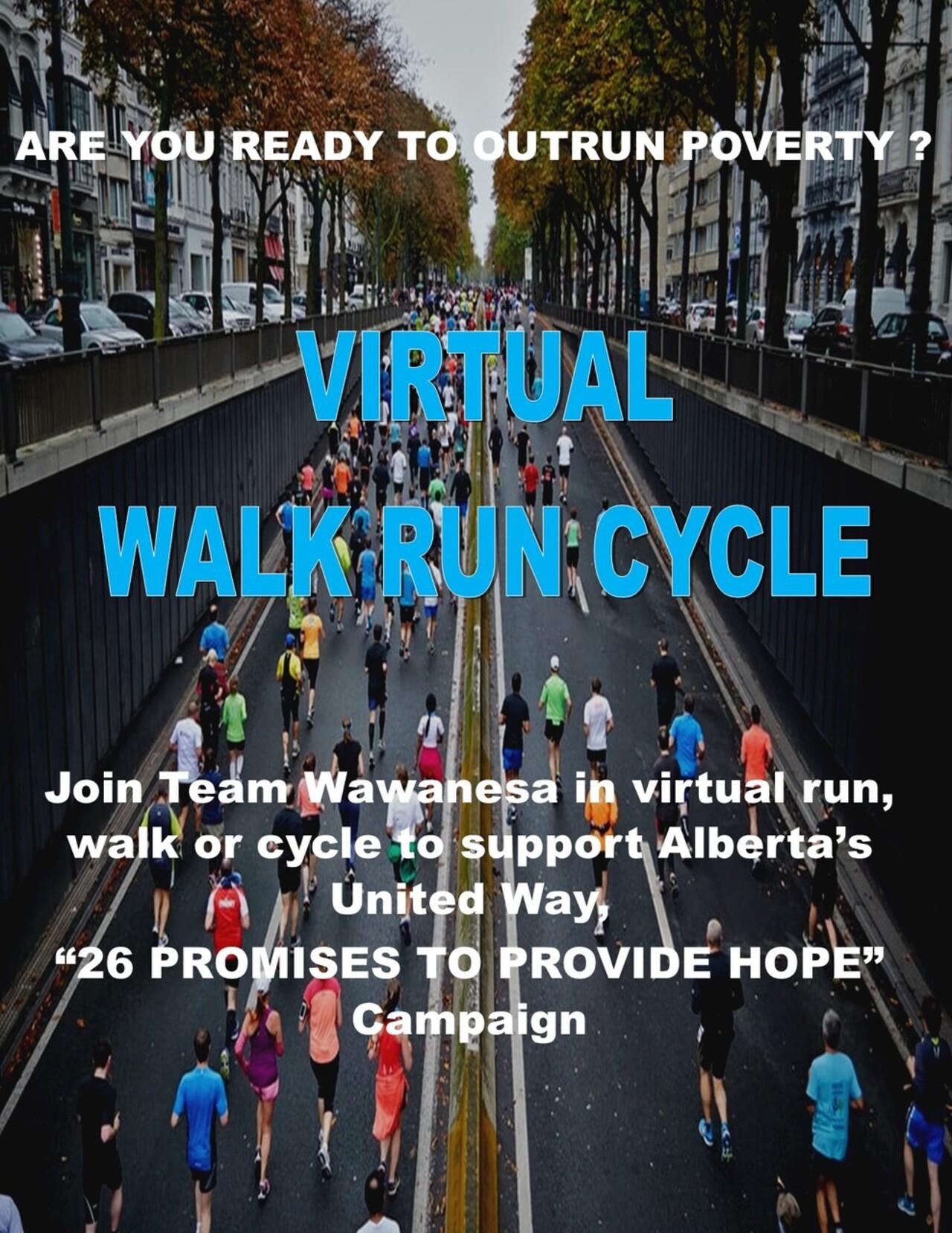 2021 Wawanesa Virtual Walk/Run/Cycle Event