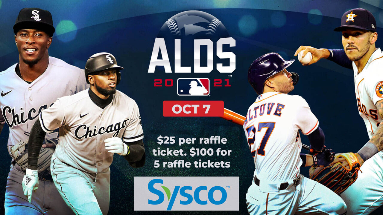 RAFFLE 2021 ALDS HOME GAME 1 THU, OCT 7, 2021 ASTROS TICKETS