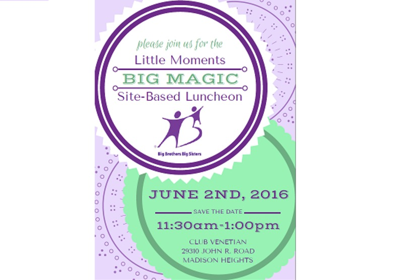 Little Moments Big Magic Luncheon