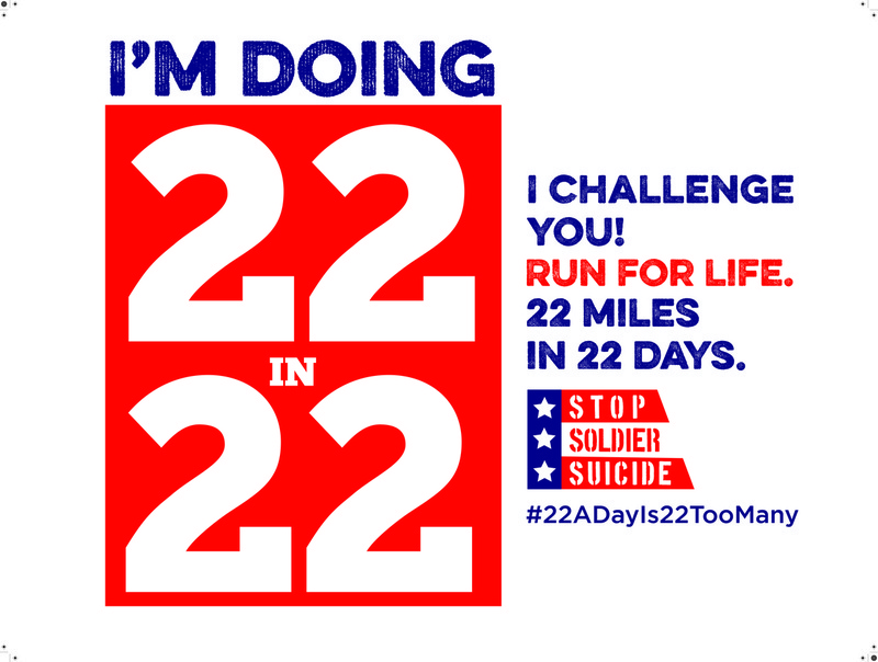 22 Miles in 22 Days