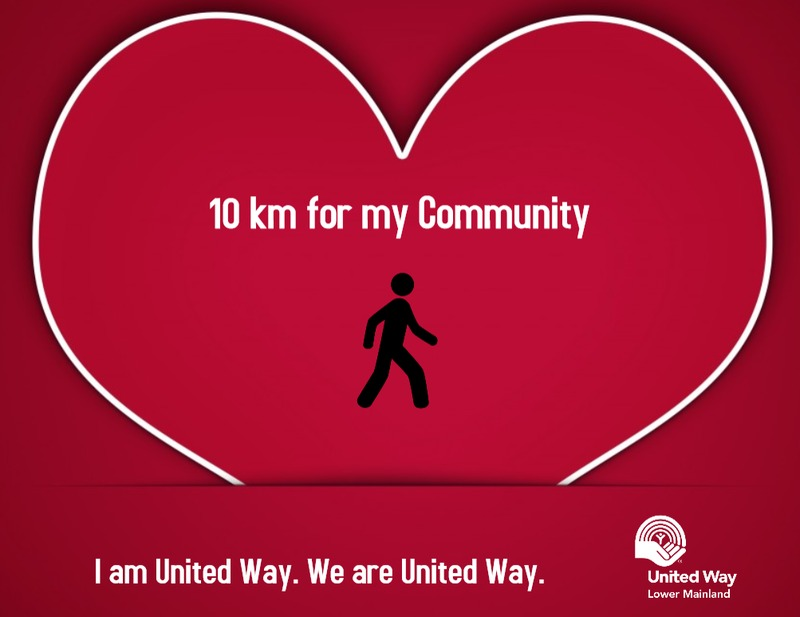 United Way's 10 km for my Community!