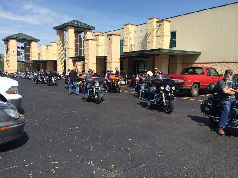 Buckeye Harley Davidson Bikin' for Boobies