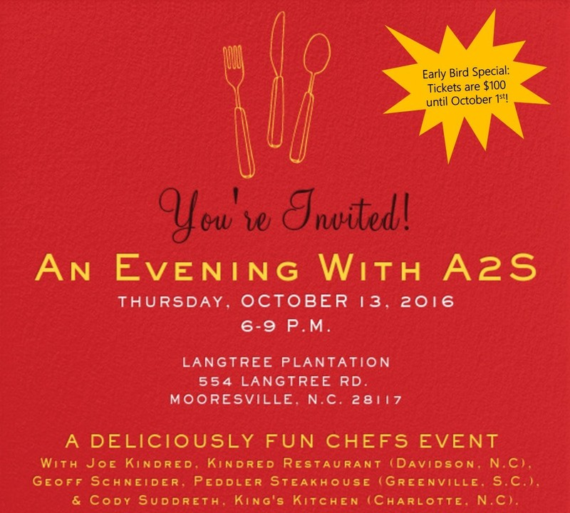 2016 An Evening with A2S: A Deliciously Fun Chefs Event