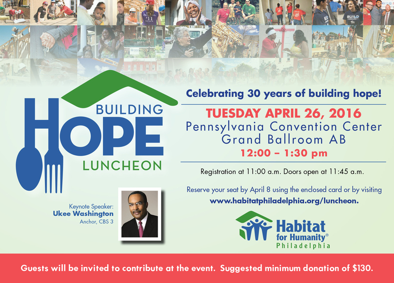 Building Hope Luncheon 2016