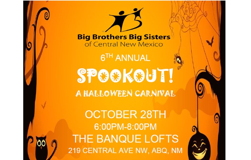 2016 Halloween Spook Out - benefiting Big Brothers Big Sisters