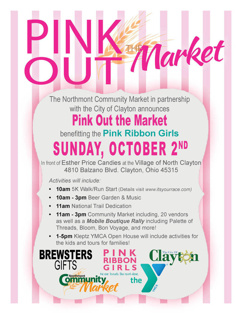 Northmont Pink Out the Market Events