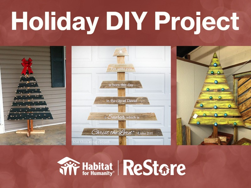 ReStore DIY Class - Holiday Pallet Project