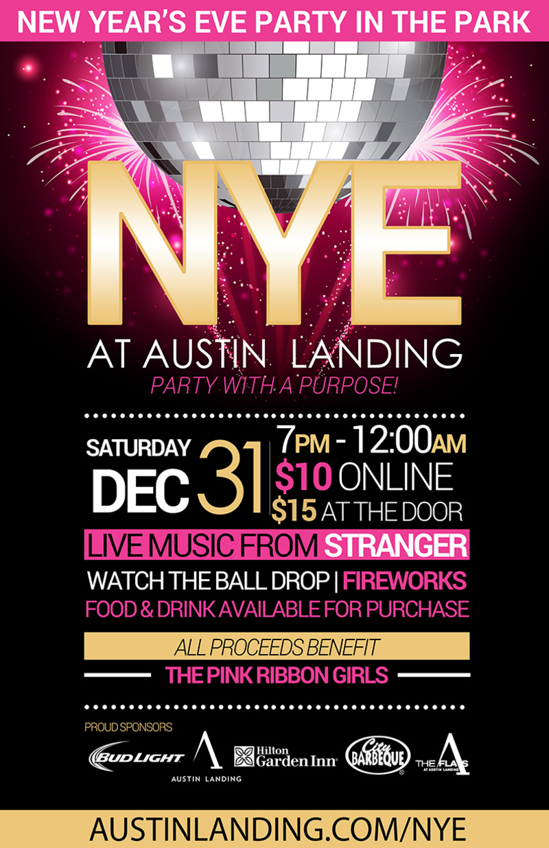 PRG Celebrates New Year's Eve @ Austin Landing