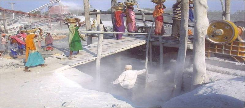 Prevent fatal disease from silica exposure in India