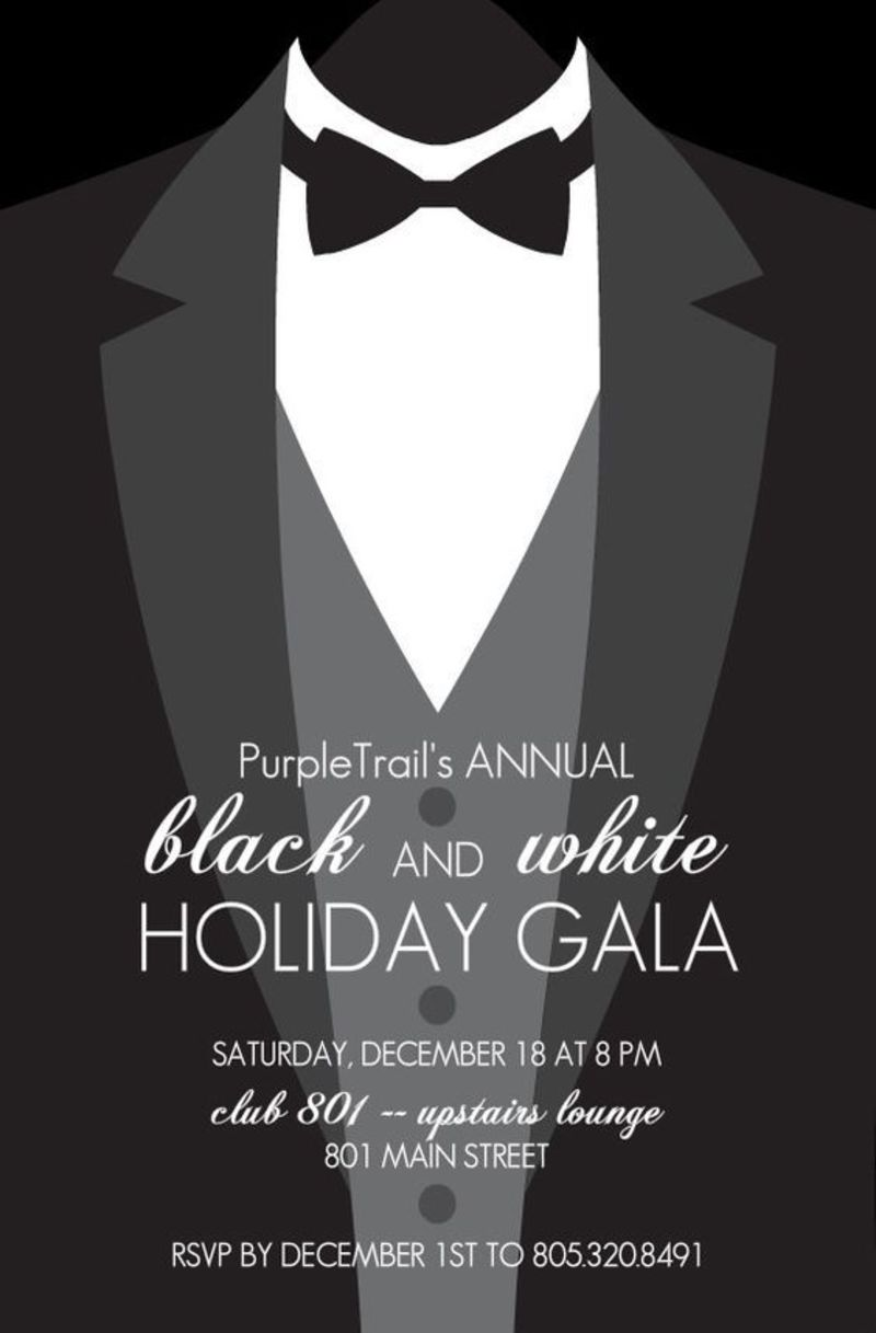 Black Tie Holiday Gala 2016!