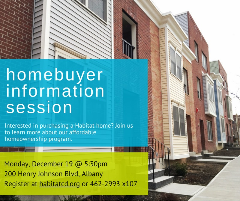 HOMEBUYER INFORMATION SESSION