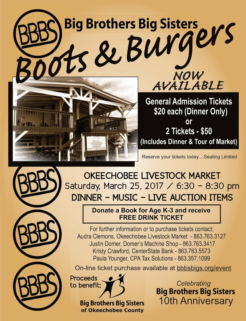 Boots & Burgers for Big Brothers Big Sisters