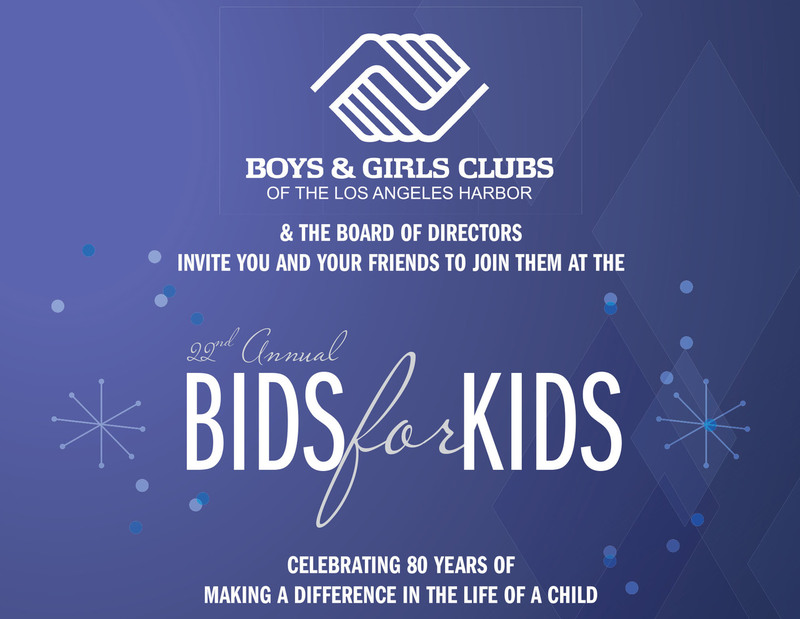 Boys & Girls Clubs of the L.A. Harbor Bids for Kids - October 13, 2017
