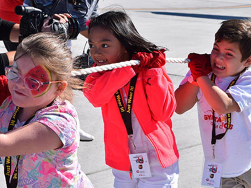 Kids Plane Pull 2017