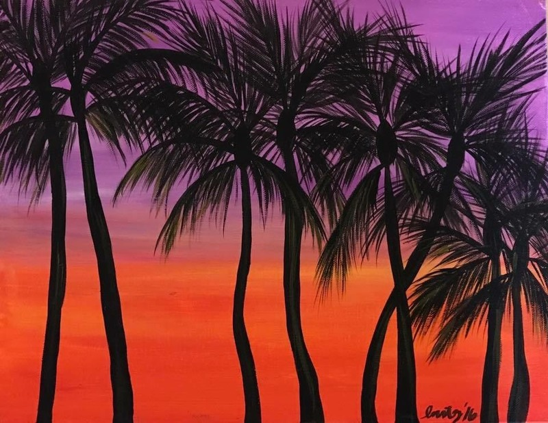 Habitat West Hawaii Paint & Sip June