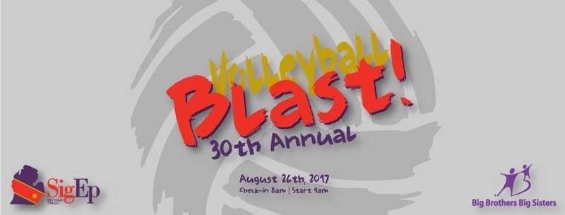 Sigma Phi Epsilon 30th annual Volleyball Blast