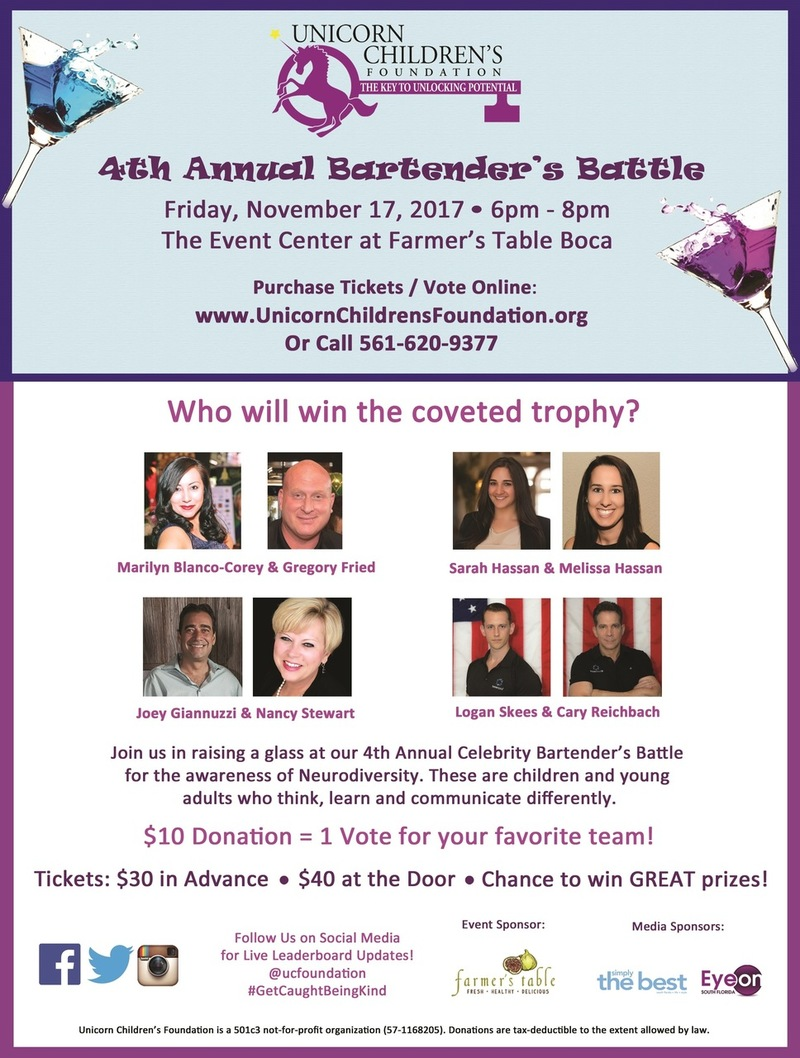 4th Annual Bartender's Battle