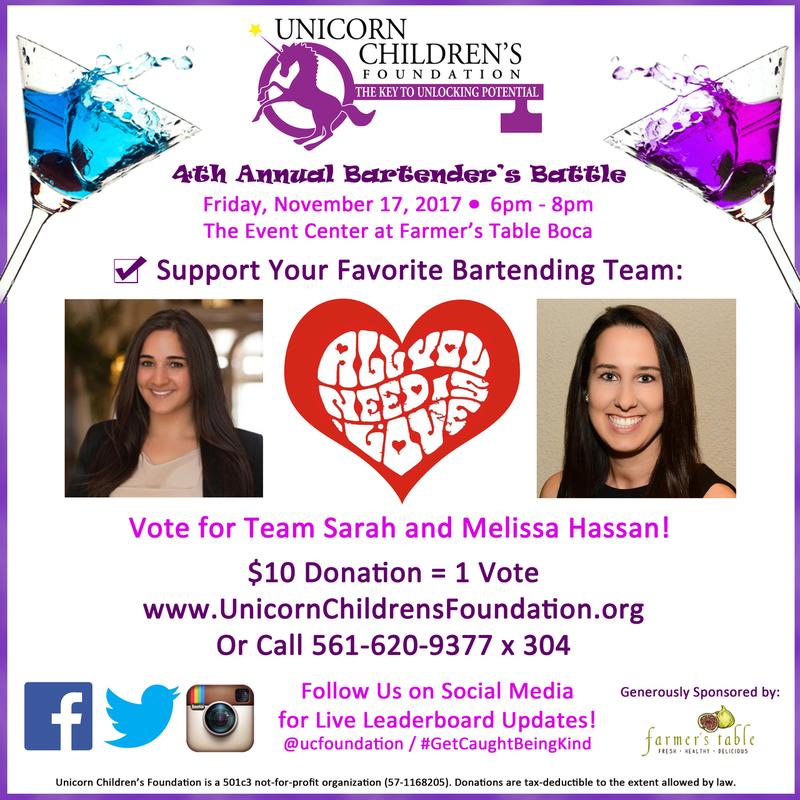 Team Sarah and Melissa