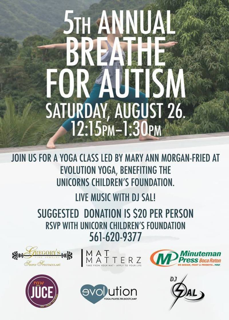 5th Annual Breathe for Autism