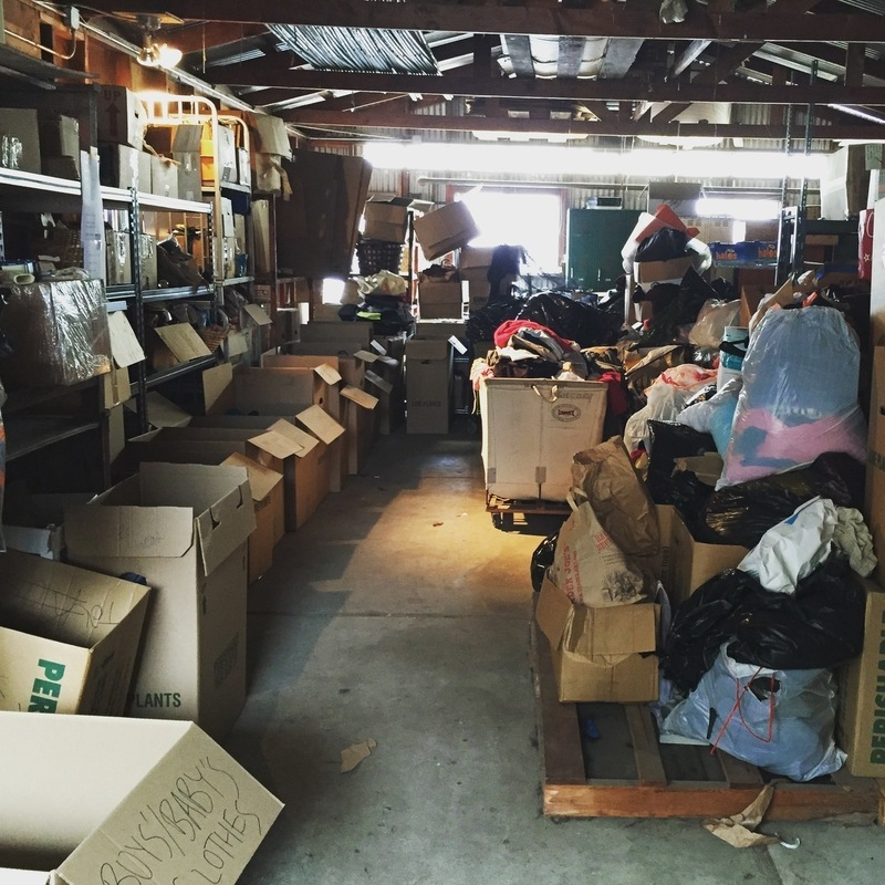 EPA Shop Warehouse Sorting (October 7th)