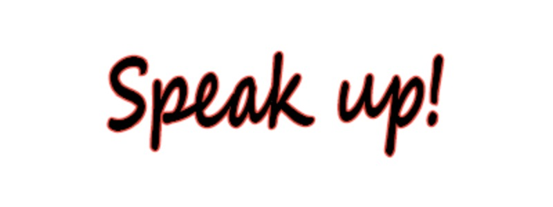 Speak Up RSVP