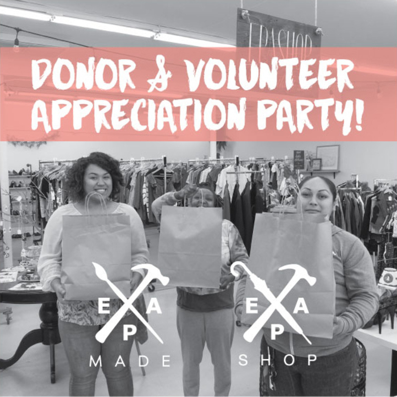 You're Invited to EPA Made Appreciation Party!