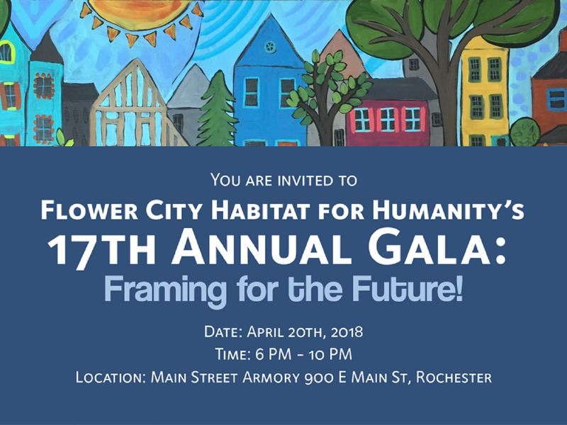Flower City Habitat for Humanity's 17th Annual Gala