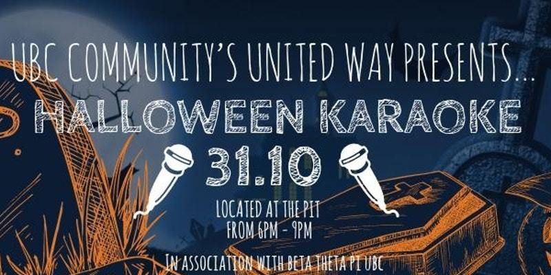 UBC Community's United Way Presents: Karaoke Night