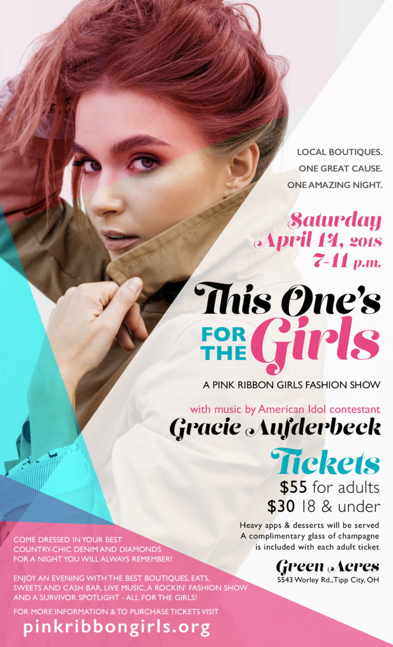 This One's For the Girls a Pink Ribbon Girls Fashion Show
