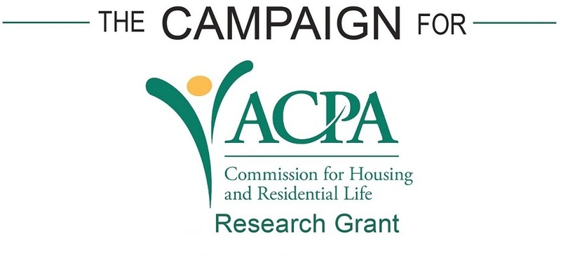 ACPA Commission for Housing and Residential Life Research Grants Campaign