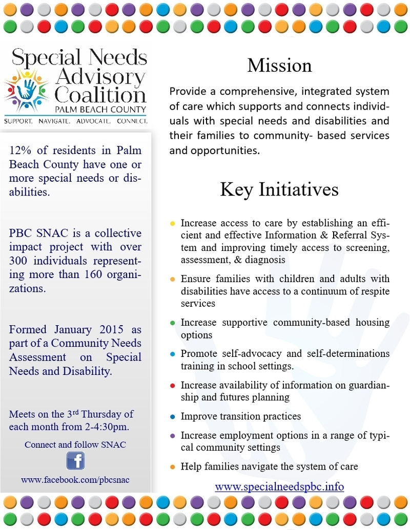 Special Needs Advisory Coalition