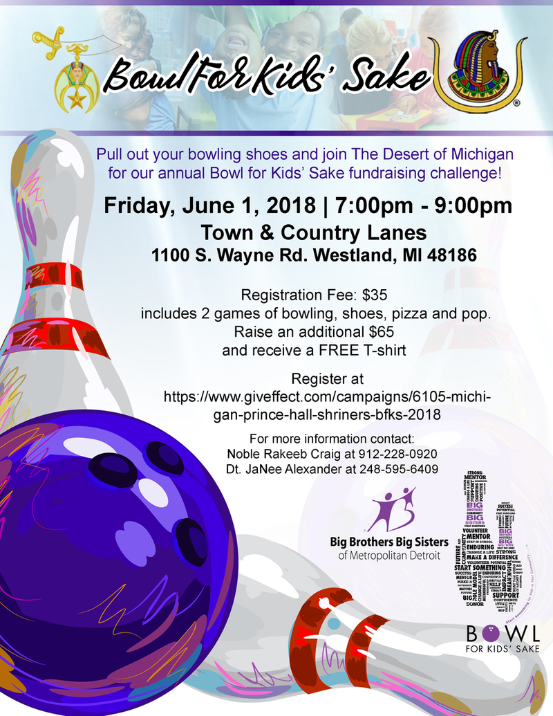 Michigan Prince Hall Shriners BFKS 2018
