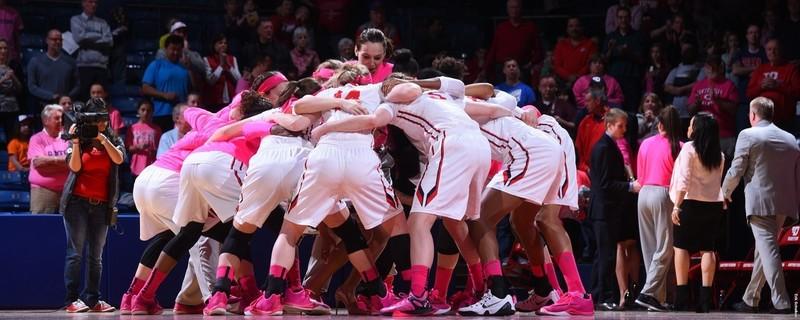Dayton February Coffee Talk- UD Women's Basketball Pink Game