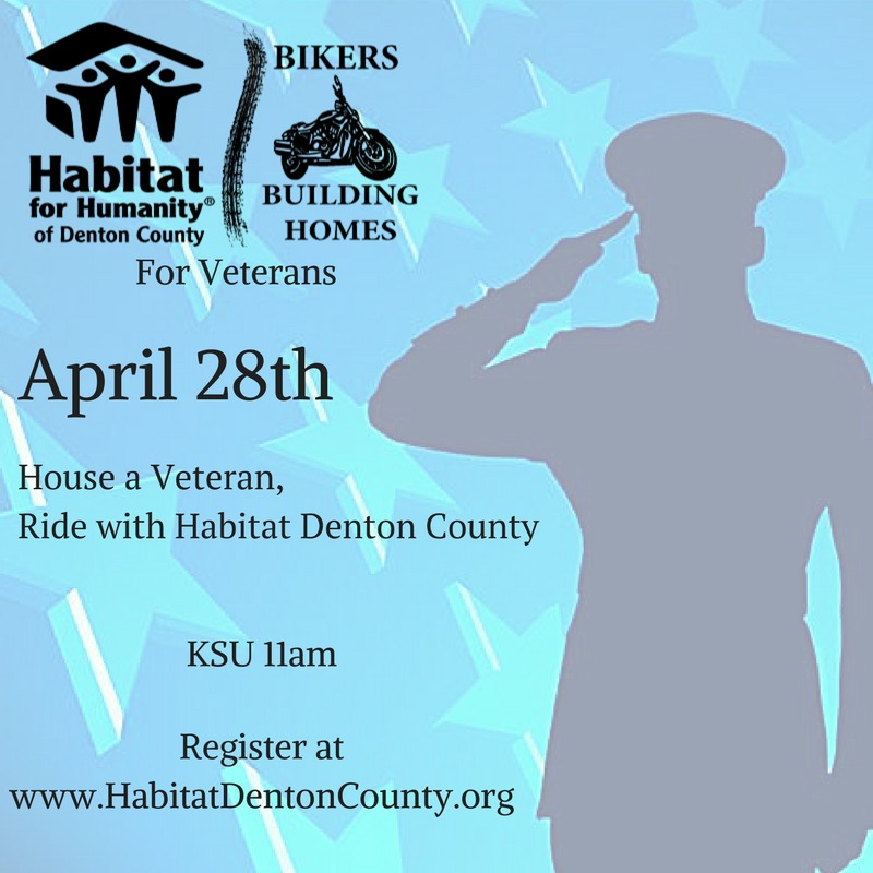 Bikers Building Homes for Veterans