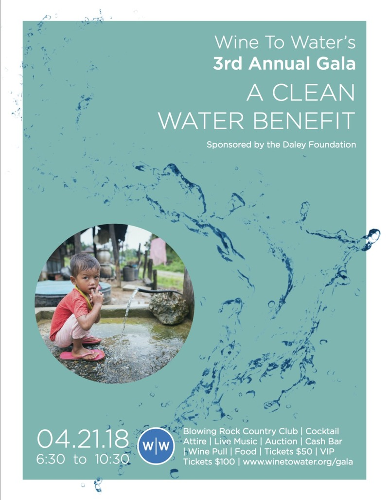 Wine To Water 3rd Annual Gala: A Clean Water Benefit