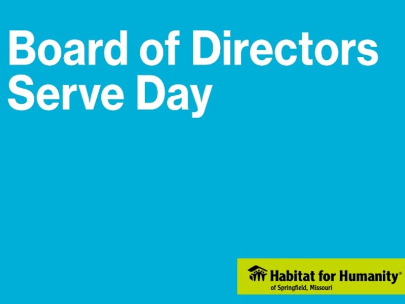 Board of Directors Serve Day