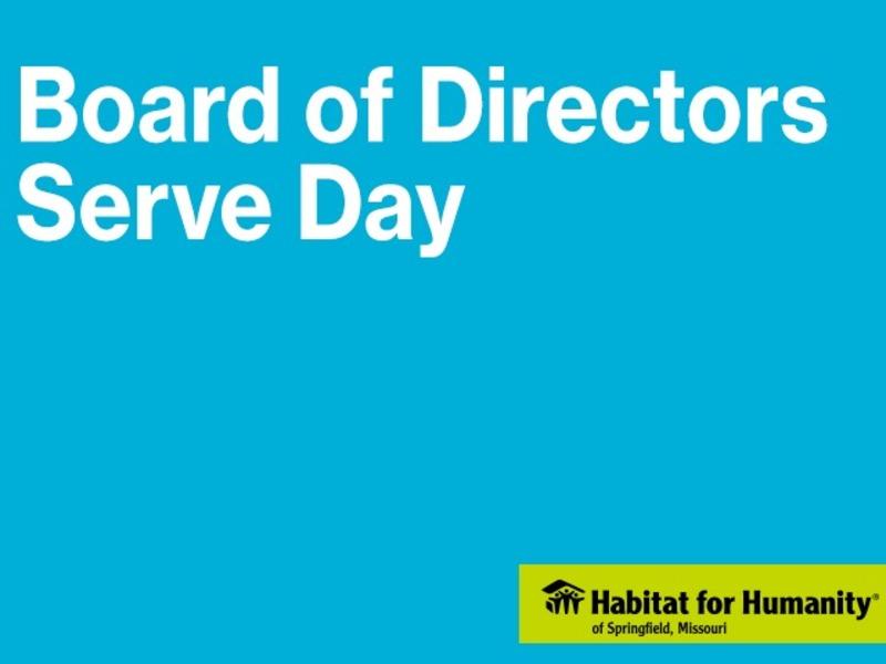 Board of Directors Serve Day