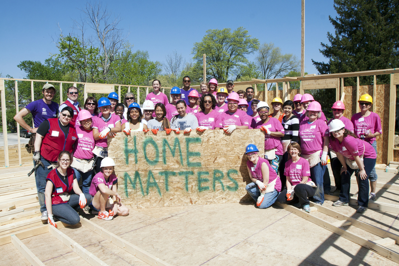 Women Build Lowe's Clinic