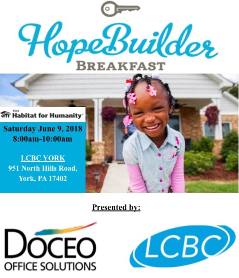 Hope Builders Breakfast