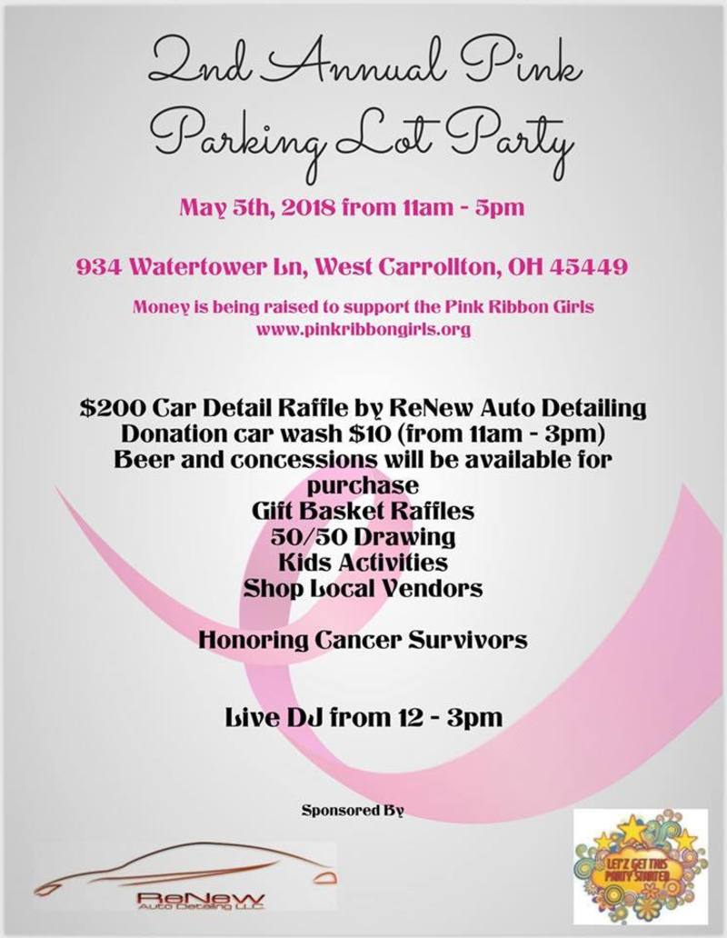 Pink Parking Lot Party presented by ReNew Auto Detailing