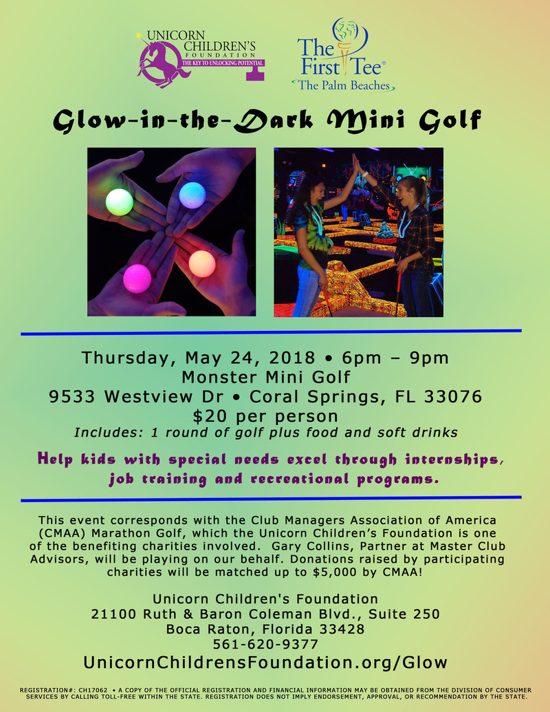 Glow-in-the-Dark Mini Golf