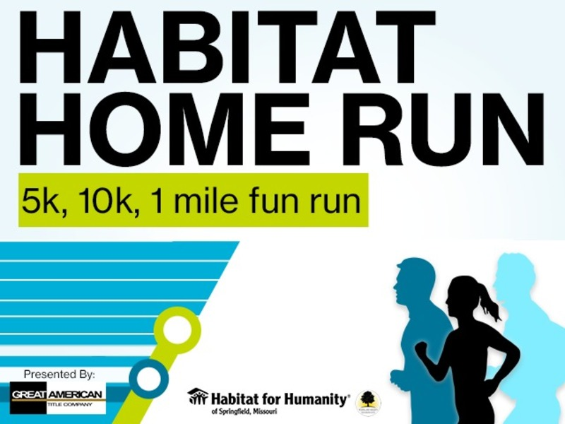 Habitat Home Run: 5k, 10k, 1 mile fun run