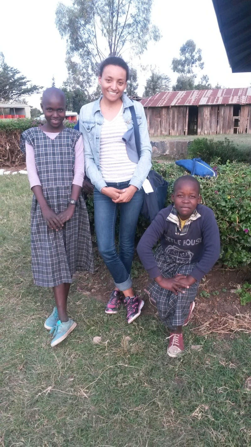 Helping children around the world - Miss Universe Canada 2018 Humanitarian Ef...