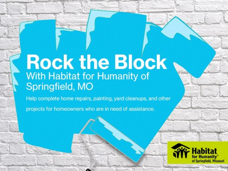 Rock the Block Volunteers