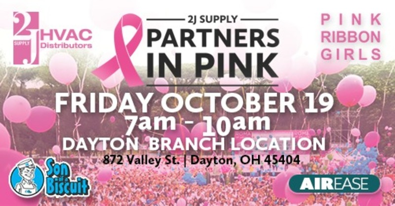2J Supply Pink Ribbon Girls Event