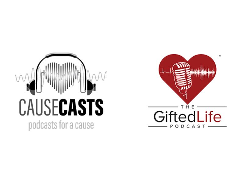 Donate to The Gifted Life Podcast via Causecasts