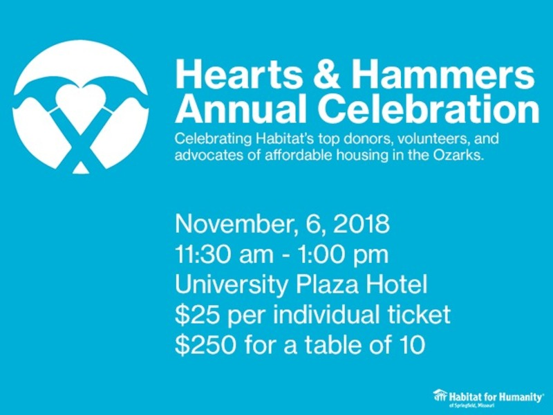 Hearts & Hammers Annual Celebration