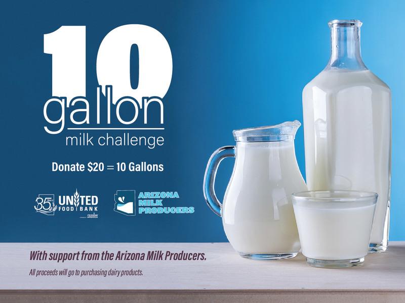 10 Gallon Milk Challenge