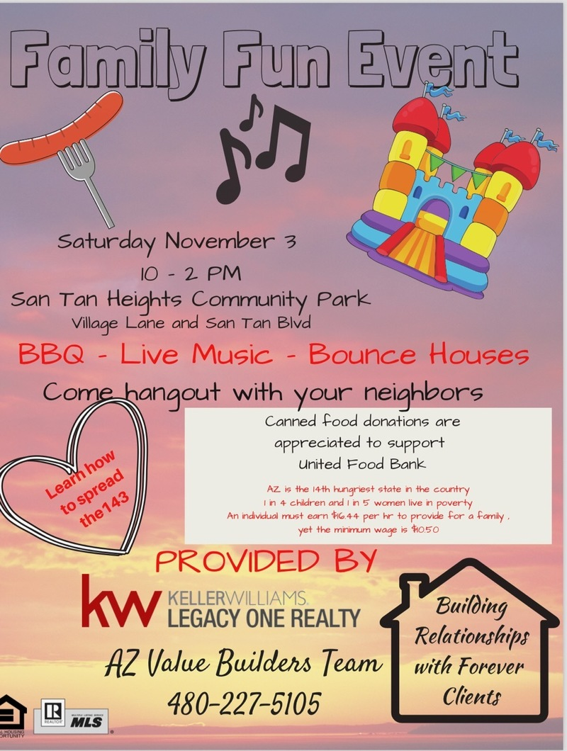 Keller Williams Family Fun Event