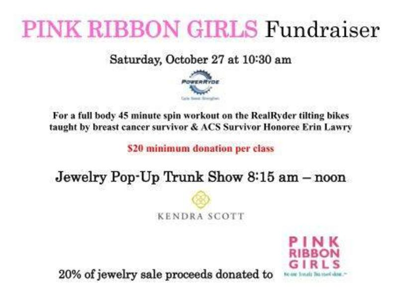 PowerRyde Pink Ribbon Girls Fundraiser